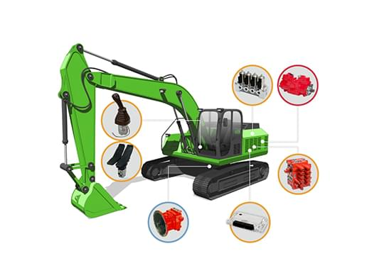 Hydraulic systems for construction machinery