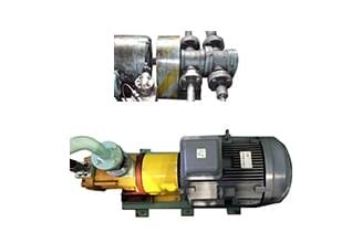 Replacement of fixed displacement pumps and motors